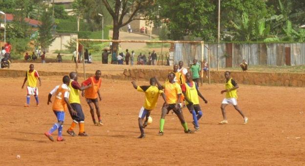 Le football au coeur de la reconciliation au Rwanda