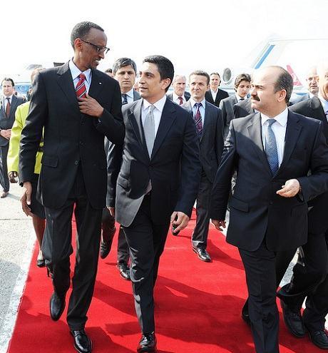 Le président rwandais entame une visite officielle en Turquie