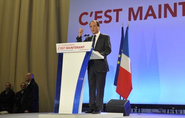 Présidentielle en direct : Hollande en tête du premier tour devant Sarkozy