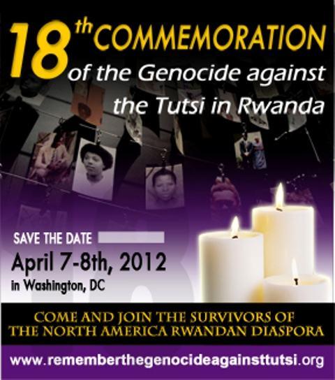 Etats-Unis : 18ème commémoration du génocide des Batutsi du Rwanda