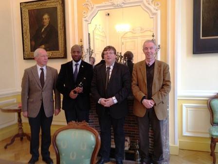 Twiyemeje gushimangira umubano n'Akarere ka Flandres – Ambasaderi Masozera