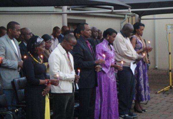 Abanyarwanda bo muri Afurika y'Epfo nabo bibutse abazize Jenoside yakorewe Abatutsi