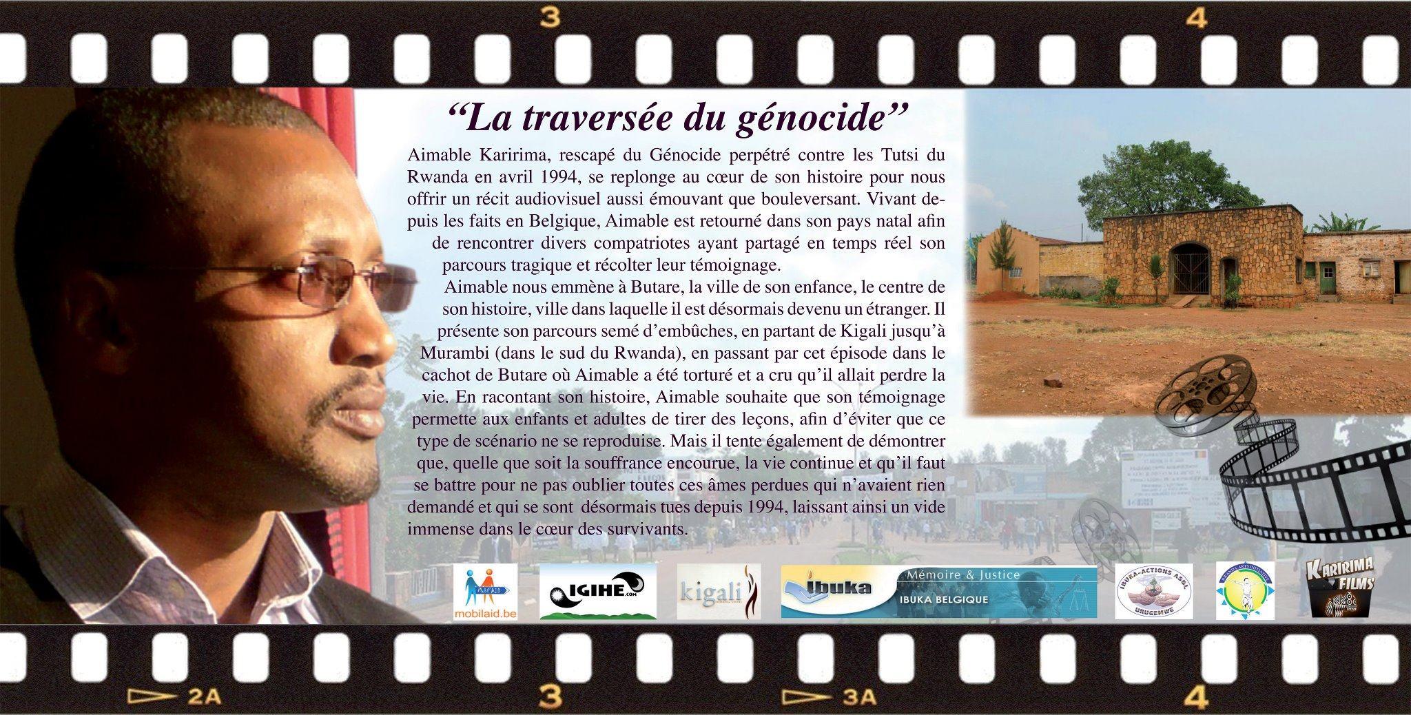 BXL : sortie du film documentaire «La traversée du génocide»