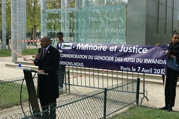 18ème Commémoration du Génocide contre les Tutsi en France