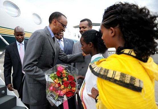 President Kagame yageze muri Ethipia muri World Economic Forum