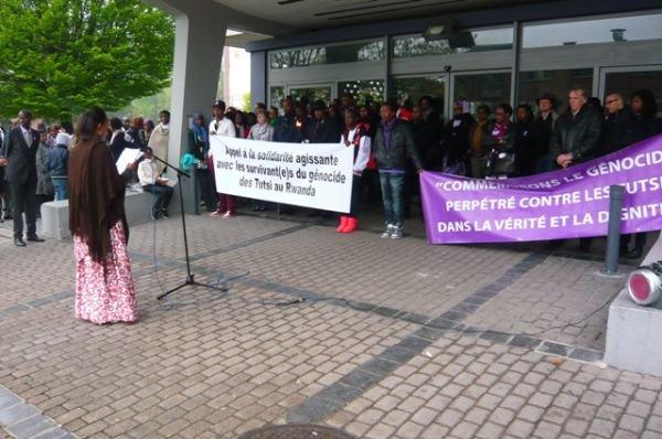 Diaspora/Charleroi : Igicaniro cyo kwibuka Jenoside yakorewe Abatutsi mu 1994