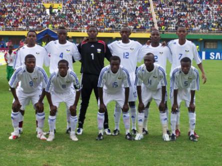 Football : La sélection rwandaise à Alger
