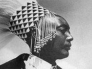 Hommage au roi  Rudahigwa Mutara III roi du Rwanda