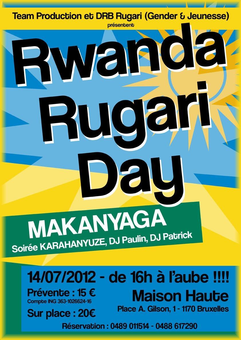 Bruxelles : Rwanda Rugari day