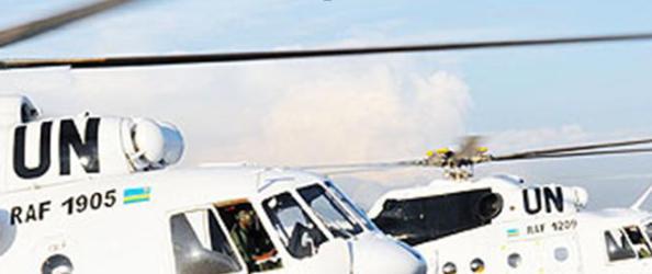 Le Rwanda 6ème contributeur mondial en forces de maintien de la paix déploie près de 100 aviateurs et 6 MI-17 au Sud-Soudan