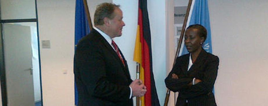 L'Allemagne renouvelle son aide au Rwanda…