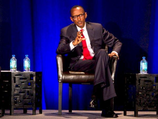 Kagame à Boston/USA : une communication sur l'économie rwandaise