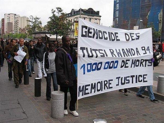 « Etre africain, c'est être rwandais chaque année au mois d'avril »