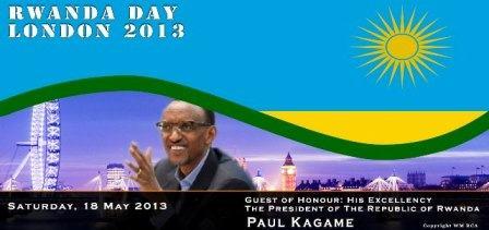 Rwanda day Londres 18 mai 2013