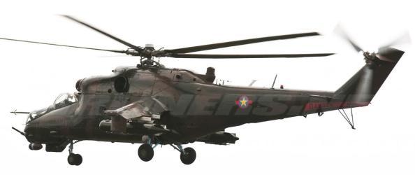 Les hélicoptères de combat des FARDC sont entrés en action entre Sake et Goma selon Reuters. Les experts confirment l'existence de 2 MI25 ukrainiens