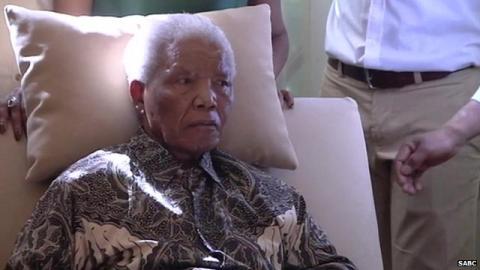 Mandela de nouveau hospitalisé dans un état «préoccupant mais stable»