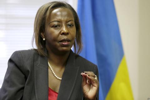 La ministre rwandaise Louise Mushikiwabo en visite officielle en Israël