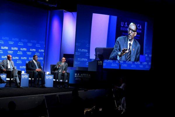 Kagame contre les détracteurs de l'Afrique au Sommet US-Afrique