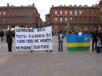 Inauguration à Toulouse d'une Stèle du Génocide des Batutsi