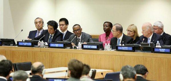 Kagame aux Nations Unies : protection de civils dans les conflits armés