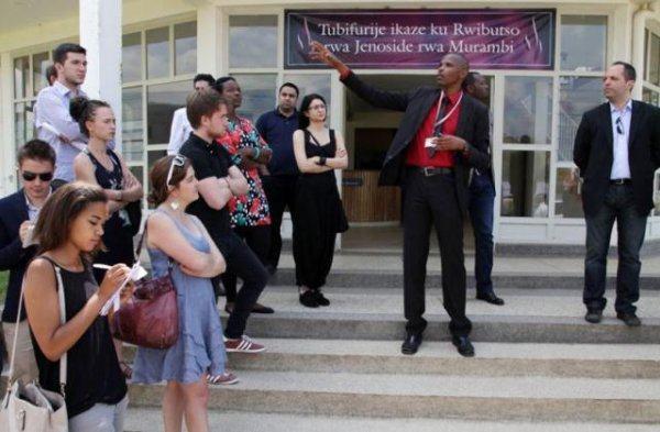 Jeunesses européennes  contre négationnisme du génocide des Tutsi