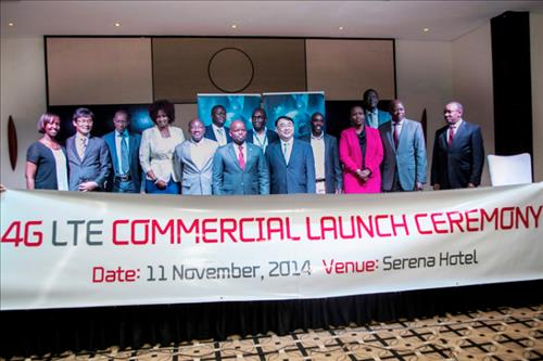 KT lance un service LTE au Rwanda