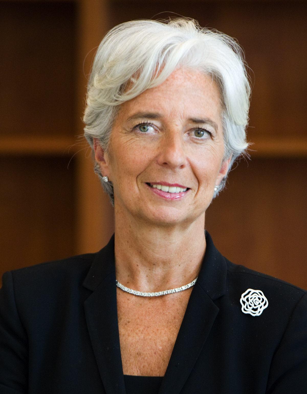 La Patronne du FMI, Christine Lagarde, à Kigali