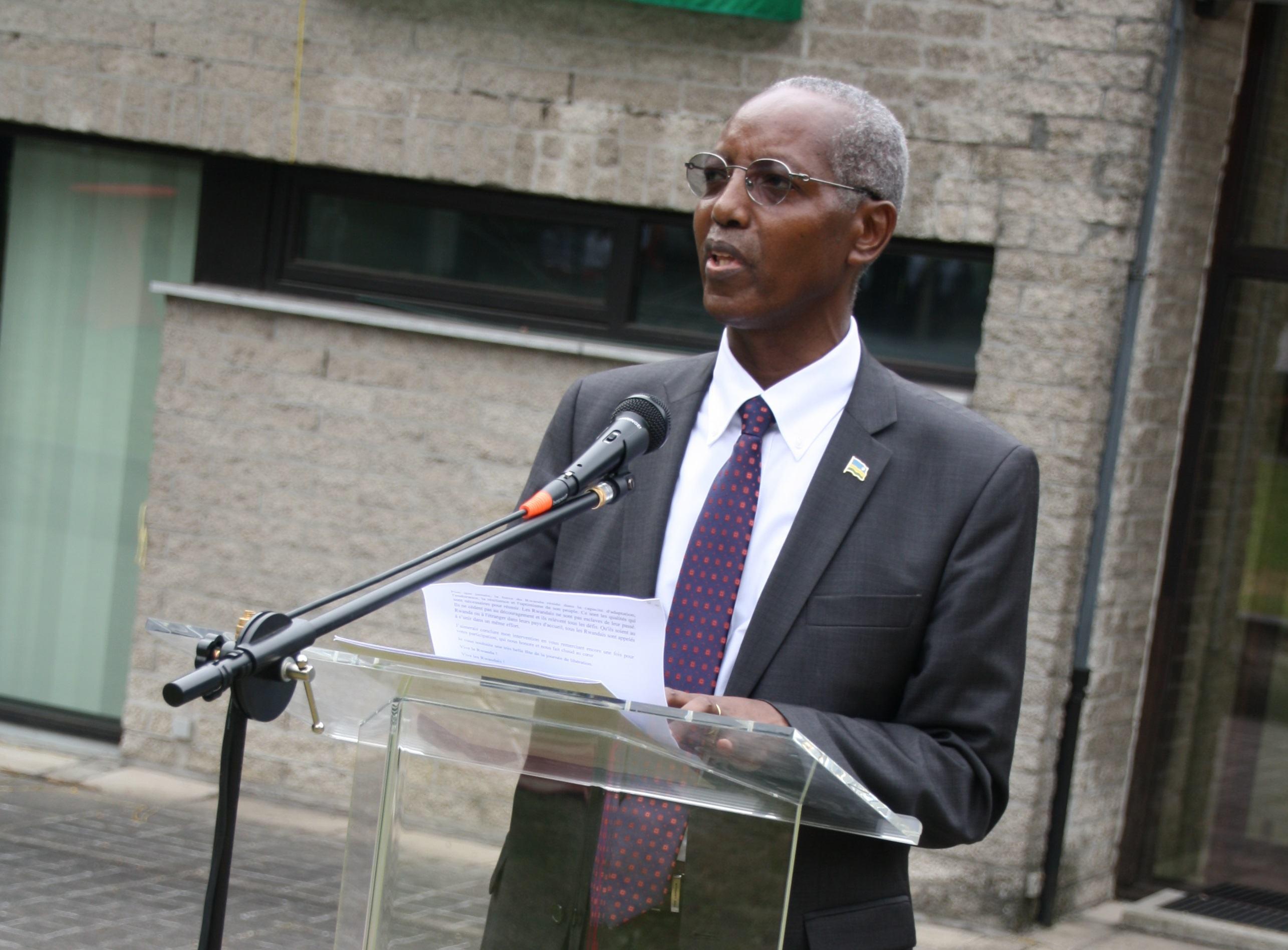 Kwibohora21/ Discours de Mr. Faustin Musare, Chargé d'Affaires a.i