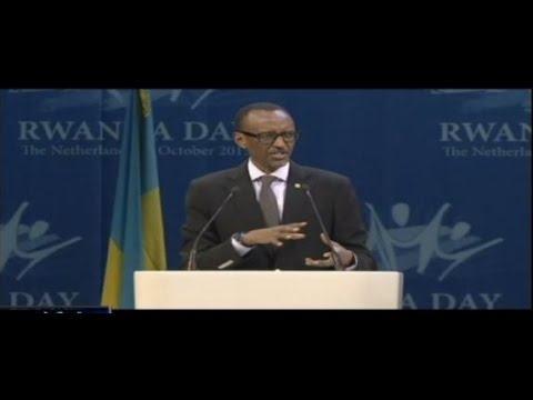Paul Kagamé à Amsterdam : « Nous refusons de vivre selon une façon dictée par d'autres »