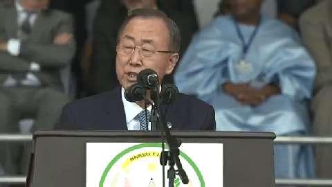 Le 11 avril dernier, en présence de Ban Ki Moon, l'O.N.U a rendu un hommage aux victimes du génocide contre les Tutsi