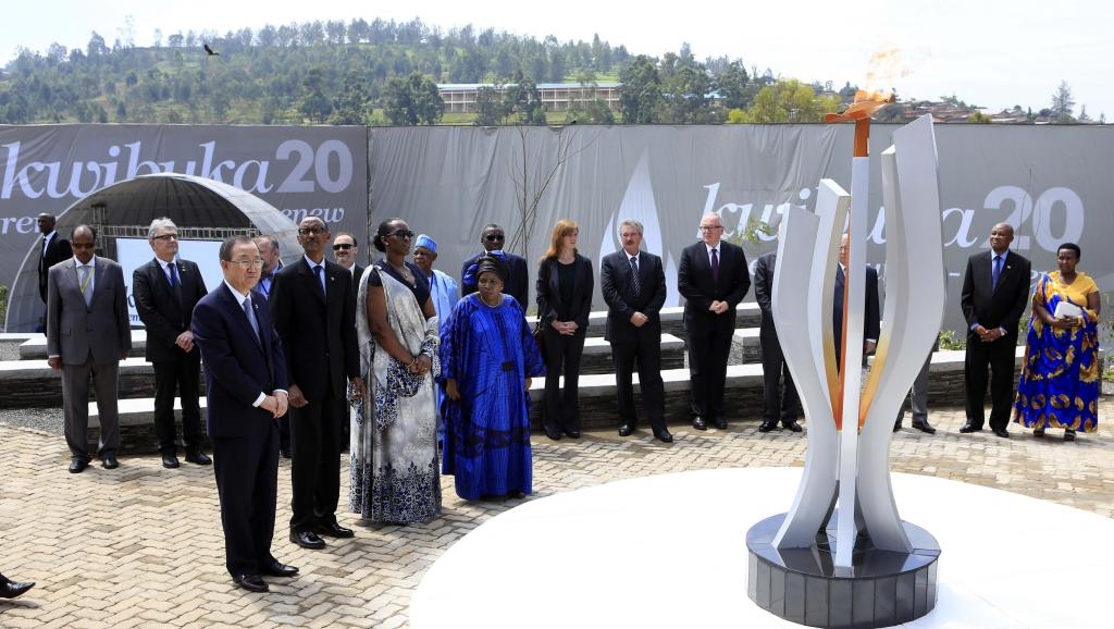 Ban-Ki Moon demande à la communauté Internationale de traduire en justice les présumés  génocidaires des batutsi du Rwanda.