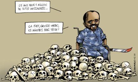 Génocide rwandais: 25 ans de réclusion criminelle pour Simbikangwa