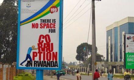 Le Rwanda sur la liste des pays les moins corrompus d'Afrique