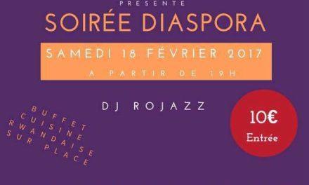 SOIRÉE DIASPORA RWANDAISE DE FRANCE