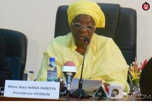 TOGO : Awa Nana et le HCRRUN à l'Ecole du Rwanda