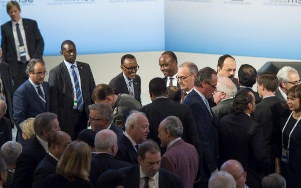 Kagame en Allemagne participe à une conférence sur la sécurité