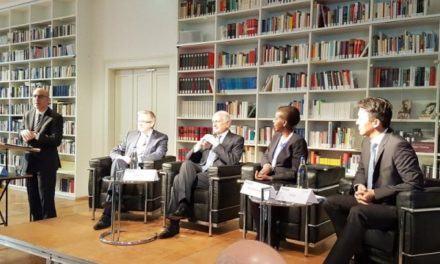 Louise Mushikiwabo au Panel de la Conférence internationale sur la Sécurité