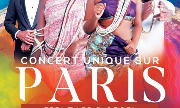 CHARLY & NINA EN CONCERT A PARIS LE 11 MARS 2017