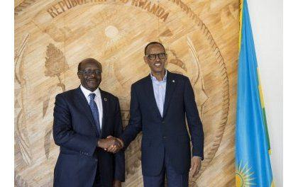 Le dirigeant de la Conférence des NU pour Commerce et Développement reçu par Kagame