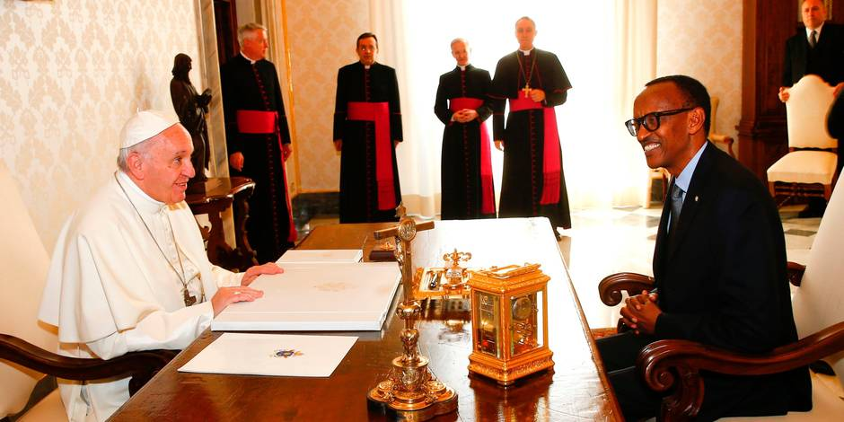 Génocide au Rwanda: le pape «implore le pardon de Dieu»