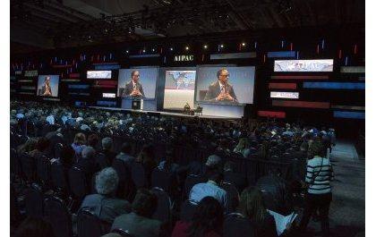 Paul Kagame du Rwanda fait une communication au puissant lobby juif AIPAC
