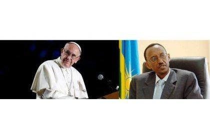 Kagame chez le pape Françoir 1er : Va-t-il y chercher la grâce divine ?