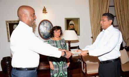 Le nouvel ambassadeur Rwandais aux Seychelles se concentrera sur le commerce, l'investissement et le tourisme