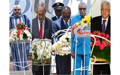 Ubutumwa bw'abayobozi bakomeye bashenguwe na Jenoside yakorewe Abatutsi basuye urwibutso rwa Kigali