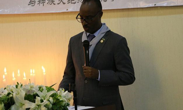 Kwibuka23: the Genocide was no accident, says Amb. Kayonga