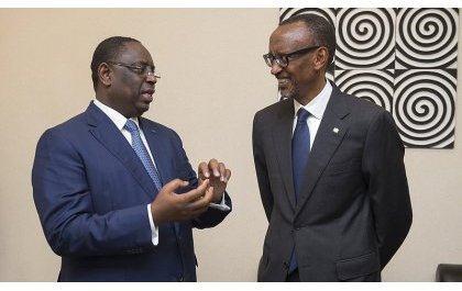 Perezida Kagame na Macky Sall bagenewe igihembo cyitwa 'Super Prix Grand Bâtisseur'