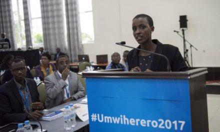Rwanda : Nelly Mukazayire, un fardeau en héritage