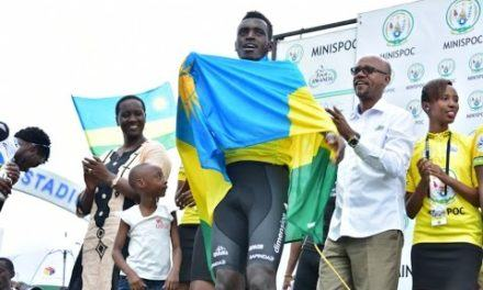 Valens Ndayisenga Tour du Rwanda 2016