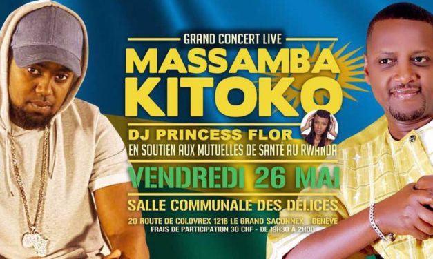 GRAND CONCERT LIVE MASSAMBA ET KITOKO 26 MAI 2017