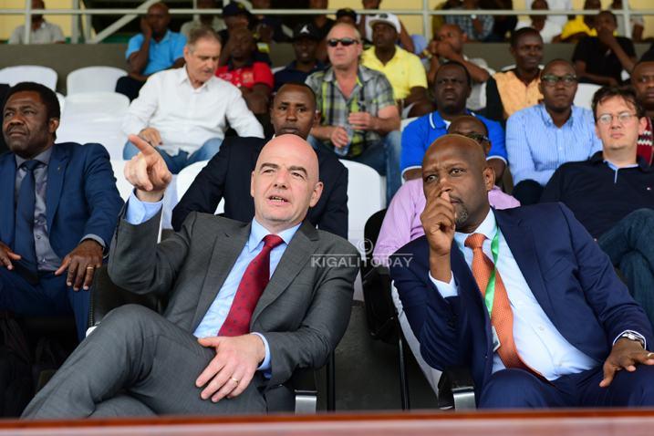 Perezida wa FIFA yashimiye Rayon Sports kuba yaregukanye igikombe cya Shampiona